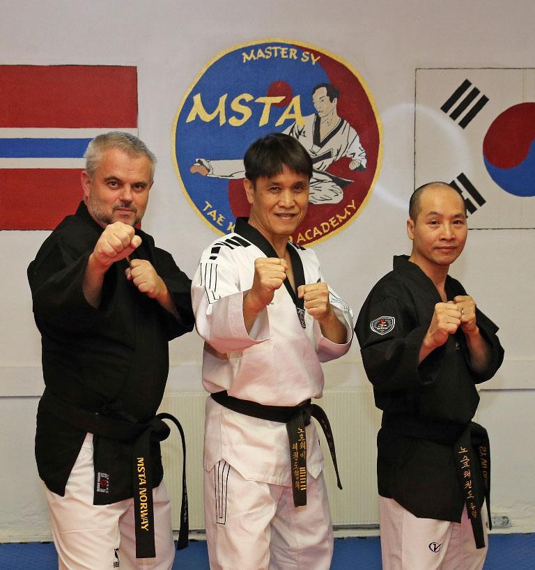 Master Taekwondo DAN Gradering